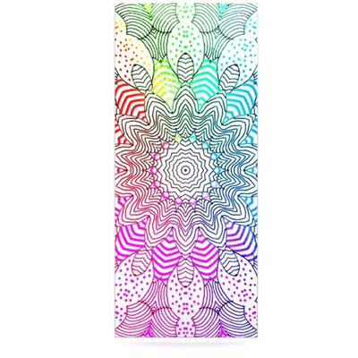 KESS InHouse Rainbow Dots by Monika Strigel Graphic Art Plaque
