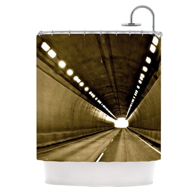 KESS InHouse Tunnel Polyester Shower Curtain