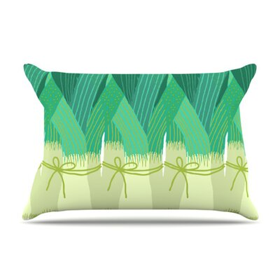 Leeks Fleece Pillow Case