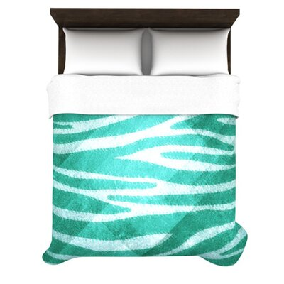 KESS InHouse Zebra Texture Duvet Cover Collection