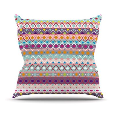 KESS InHouse Ayasha Throw Pillow