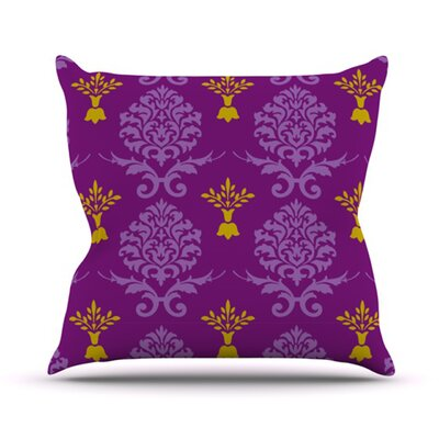KESS InHouse Crowns Throw Pillow
