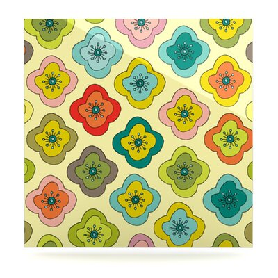 KESS InHouse Forest Bloom Floating Art Panel