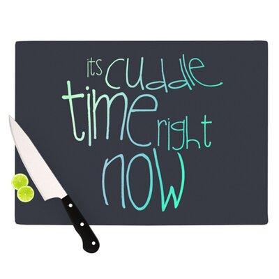 KESS InHouse Cuddle Time Cutting Board
