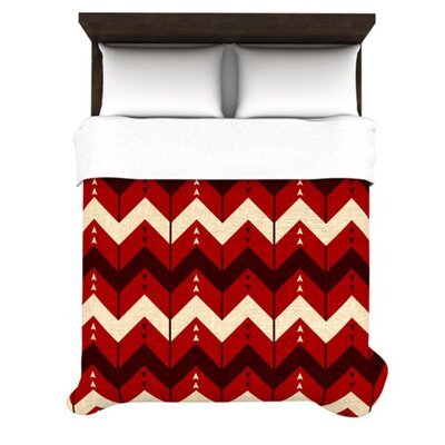 KESS InHouse Chevron Dance Duvet Cover Collection