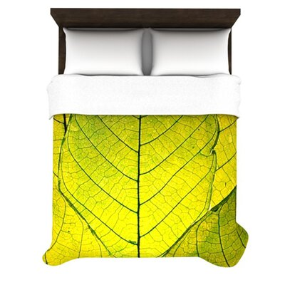 KESS InHouse Every Leaf a Flower Duvet Cover