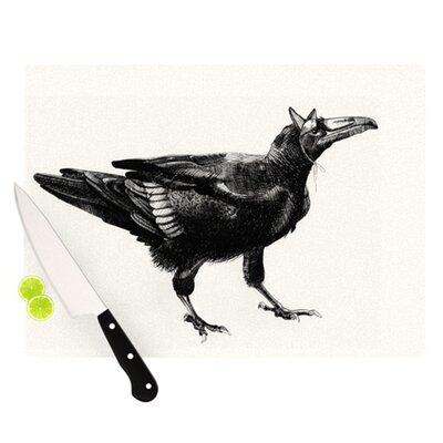 KESS InHouse Raven Cutting Board