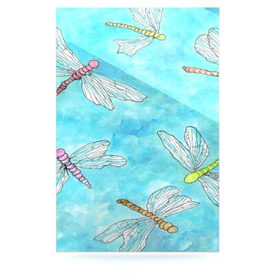 Dragonfly by Rosie Brown Graphic Art Plaque