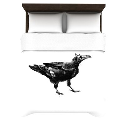KESS InHouse Raven Duvet Cover Collection