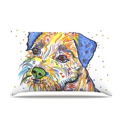 KESS InHouse Rory Fleece Pillow Case