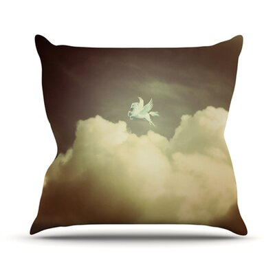 KESS InHouse Pegasus Throw Pillow