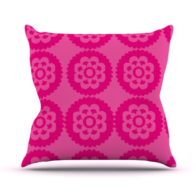 KESS InHouse Moroccan Throw Pillow