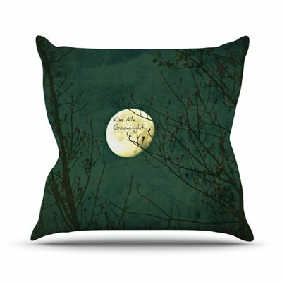 KESS InHouse Kiss Me Goodnight Throw Pillow