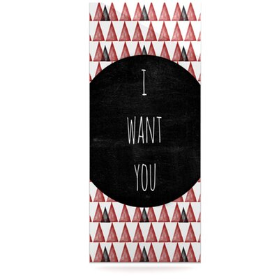 KESS InHouse I Want You Floating Art Panel