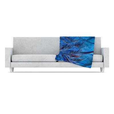 KESS InHouse Tropical Fleece Throw Blanket