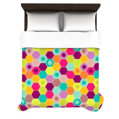 KESS InHouse Arabian Bee Duvet Cover Collection