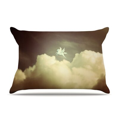 KESS InHouse Pegasus Fleece Pillow Case