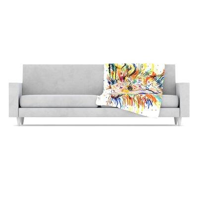 KESS InHouse Jess Fleece Throw Blanket