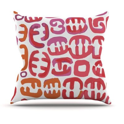 KESS InHouse Oliver Throw Pillow