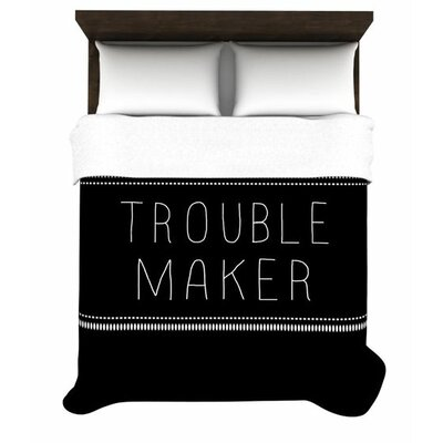 KESS InHouse Trouble Maker Duvet Cover Collection