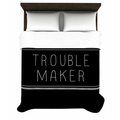 KESS InHouse Trouble Maker Duvet Cover