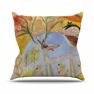 KESS InHouse Promise of Magic Throw Pillow