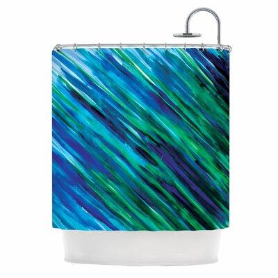 KESS InHouse Polyester Shower Curtain