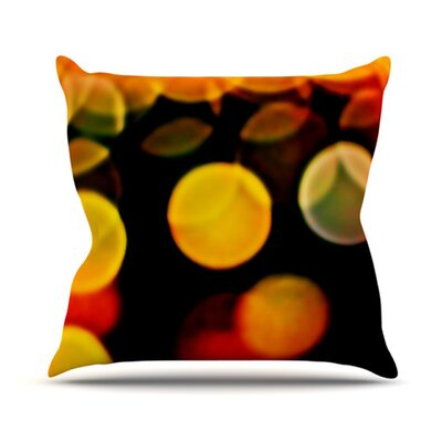 KESS InHouse Lights Throw Pillow