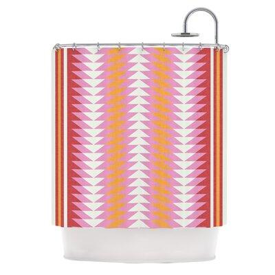 KESS InHouse Bomb Pop Polyester Shower Curtain