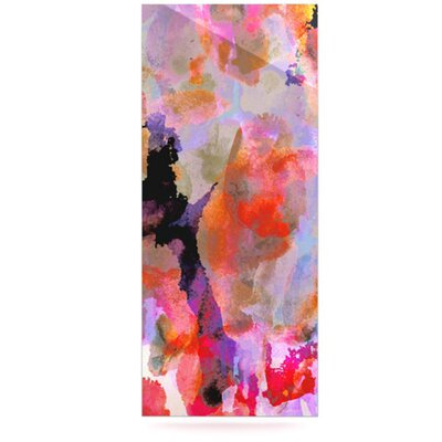 KESS InHouse Painterly Blush Floating Art Panel