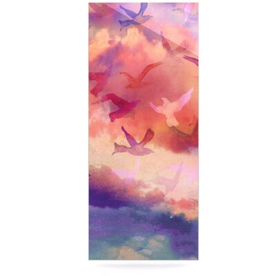 KESS InHouse Souffle Sky Floating Art Panel