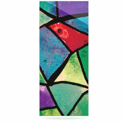 KESS InHouse Stain Glass 1 Floating Art Panel