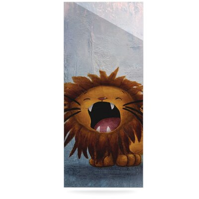 KESS InHouse Dandy Lion Floating Art Panel