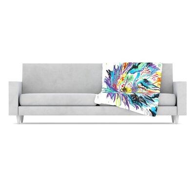 KESS InHouse Daily Fleece Throw Blanket