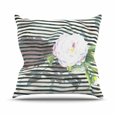 KESS InHouse Peony N Throw Pillow