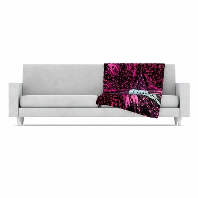 KESS InHouse Family 2 Fleece Throw Blanket