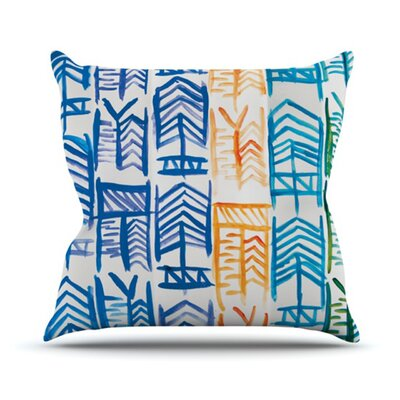 KESS InHouse Quiver II Throw Pillow