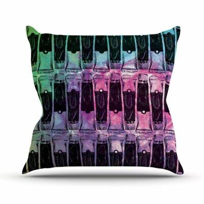 KESS InHouse Paint Tubes II Throw Pillow