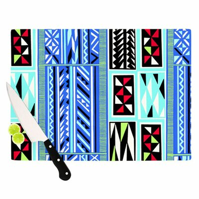 KESS InHouse American Blanket Pattern Cutting Board
