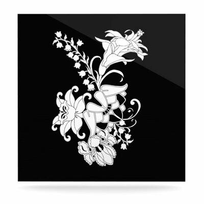 KESS InHouse My Garden by Vikki Salmela Graphic Art Plaque