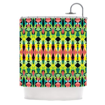 Triangle Visions Polyester Shower Curtain