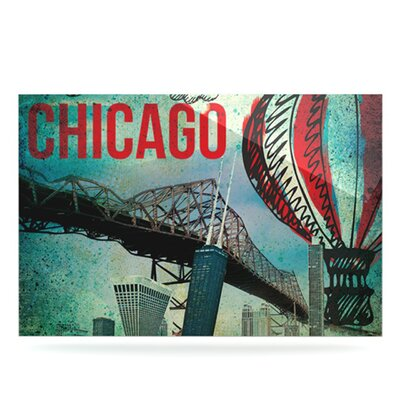 KESS InHouse Chicago Floating Art Panel