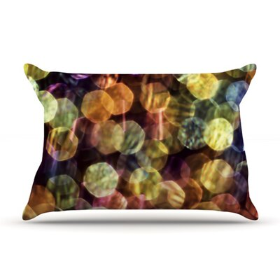 KESS InHouse Warm Sparkle Microfiber Fleece Pillow Case