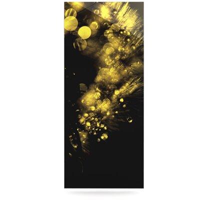 KESS InHouse Moonlight Dandelion by Ingrid Beddoes Graphic Art Plaque