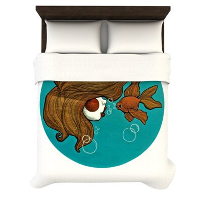 KESS InHouse Goldfish Duvet Collection