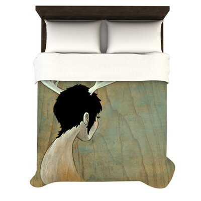 KESS InHouse Antlers Duvet Collection