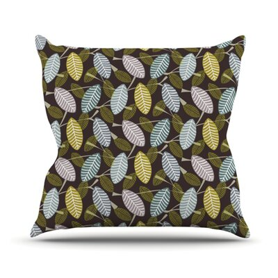 KESS InHouse Moss Canopy Throw Pillow