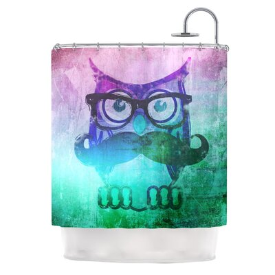KESS InHouse Showly Polyester Shower Curtain
