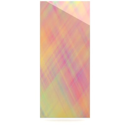 KESS InHouse Pastel Abstract Floating Art Panel