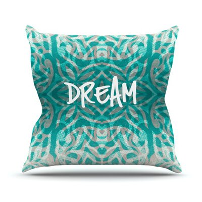 KESS InHouse Tattooed Dreams Throw Pillow